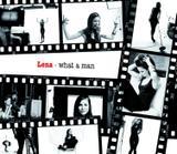 """Lena Meyer-Landrut - """"What a man"""" single cover x1"""