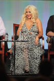 Кристина Агилера, фото 10535. Christina Aguilera 'The Voice' panel during 2012 Winter TCA Tour in Pasadena - 06.01.2012, foto 10535
