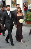 Jessica Biel Bridesmaid Photos @ Beverly Mitchell's Wedding In Italy October 1, 2008