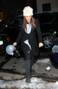 Sandra Bullock out and about in NYC 11-01-2011