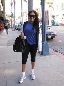 ЛаЛа Васкес, фото 52. La La Vazquez Leaving a workout in Beverly Hills - January 4, 2011, foto 52