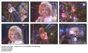 Kim Wilde - Chequered Love (Live @ WWF Club 1981)